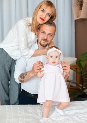Андрей, Юля и Элина