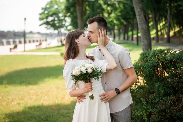 Свадебная фотосессия Жени и Павла