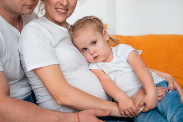 Семейно-беременная фотосессия Иры