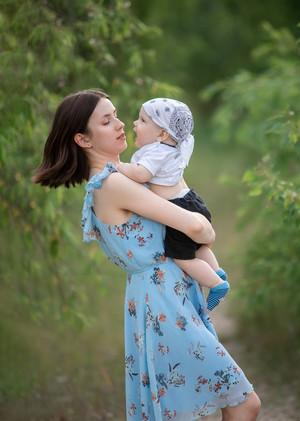 Семейная фотосессия. Платону 9 месяцев!