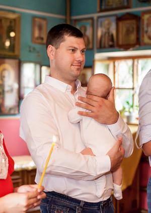 Крещение Мишеньки